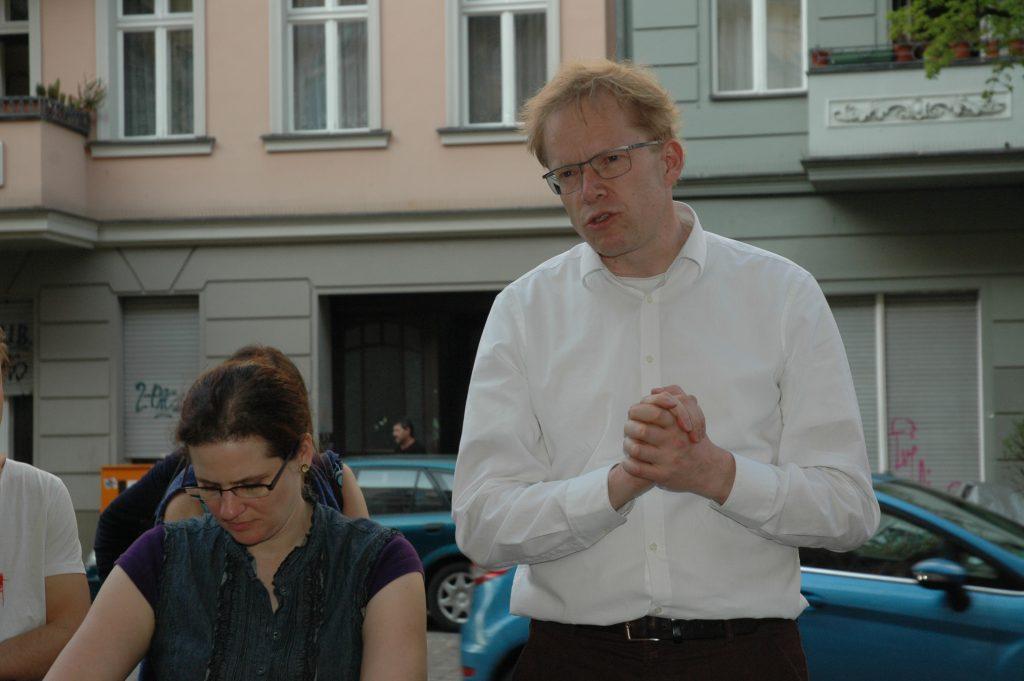 Kiezspaziergang AmMa65 im Gespräch mit Ephraim Gothe