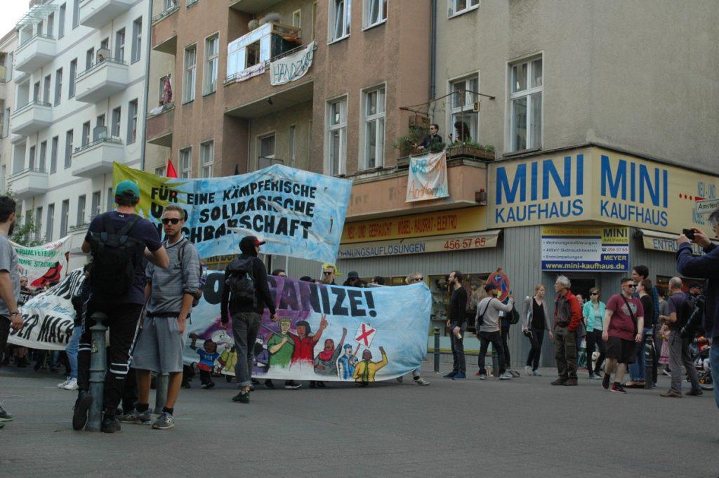 Wiederständig und solidarisch im Alltag – Demo 1. Mai